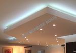 Rénovation Peinture, Faux plafond, bandeau leds